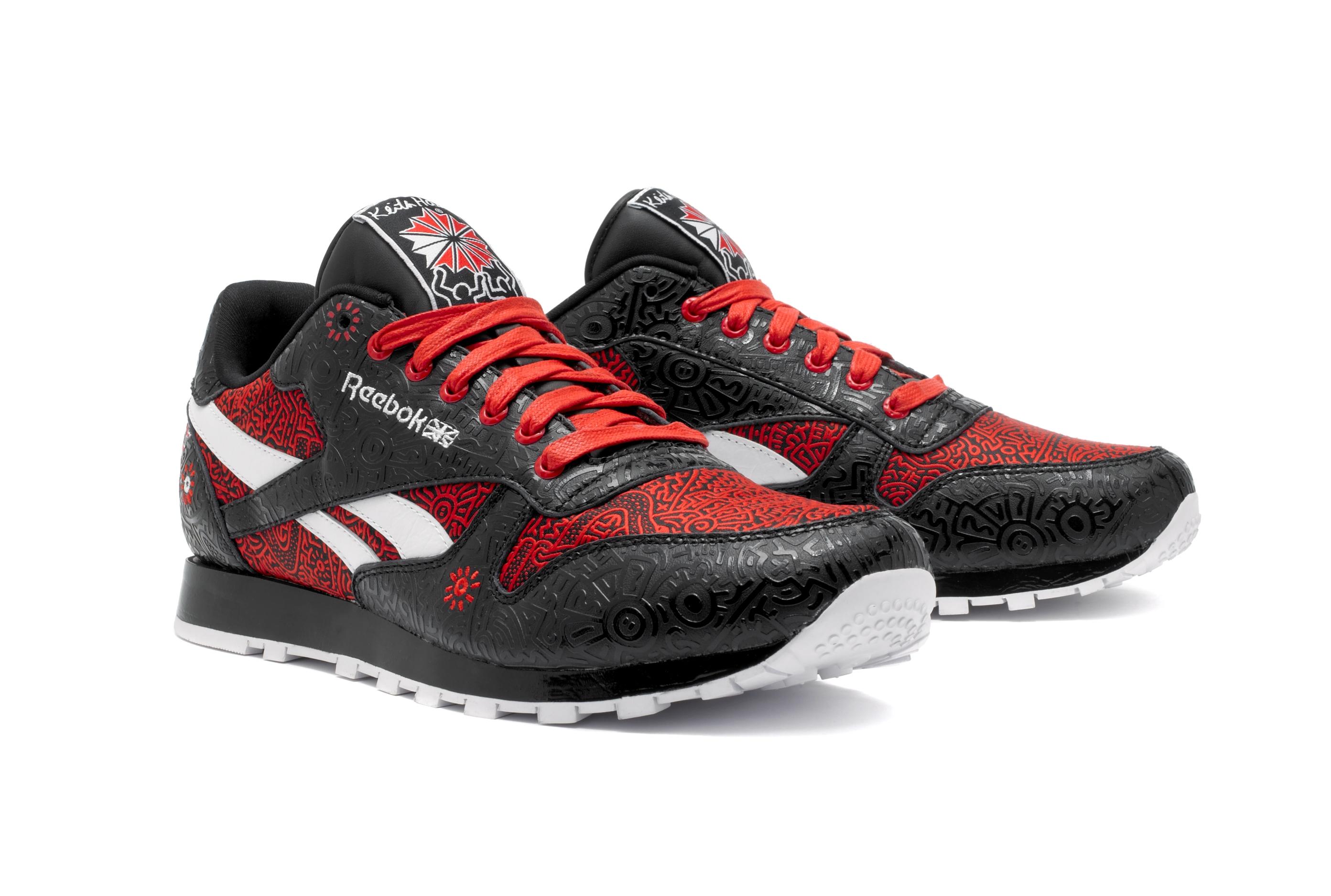Reebok совместно с Фондом Кита Харинга создали мужскую коллекцию кроссовок Reebok...